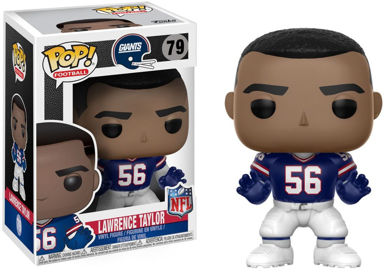 quality design affbc 4986f NFL New York Giants Funko POP! Sports Lawrence Taylor Vinyl Figure #79  [Blue Throwback Jersey]
