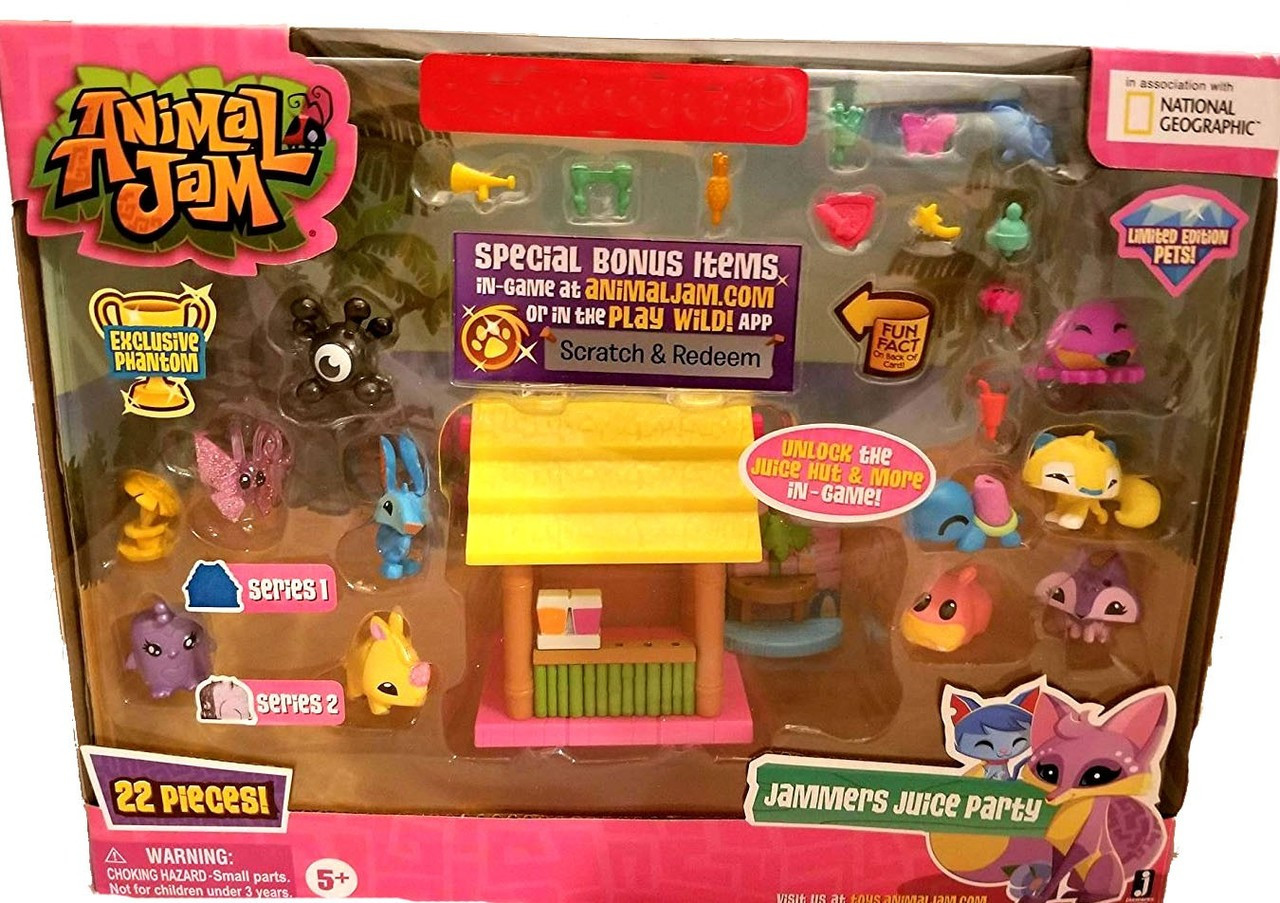 Animal Jam Jammers Juice Party Exclusive Playset Jazwares