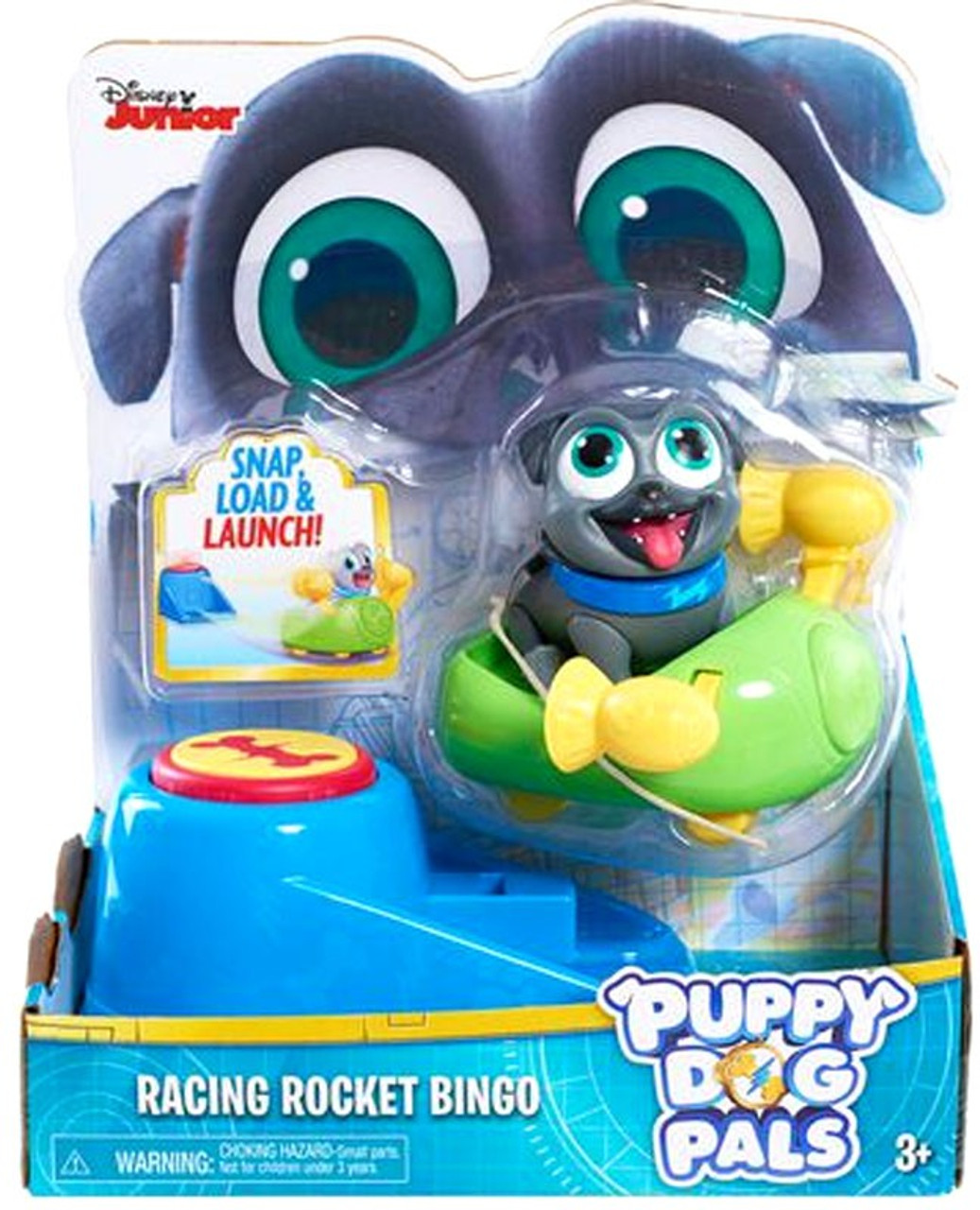f8cb5163ba2 Disney Junior Puppy Dog Pals Racing Rocket Bingo Action Figure Just Play -  ToyWiz