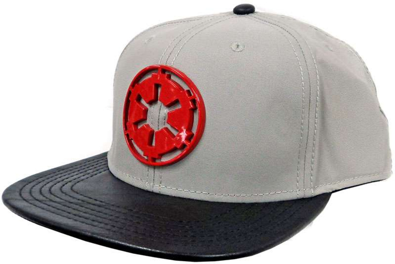 04dad5d220522 Star Wars Galactic Empire Snapback Cap Apparel Bioworld - ToyWiz