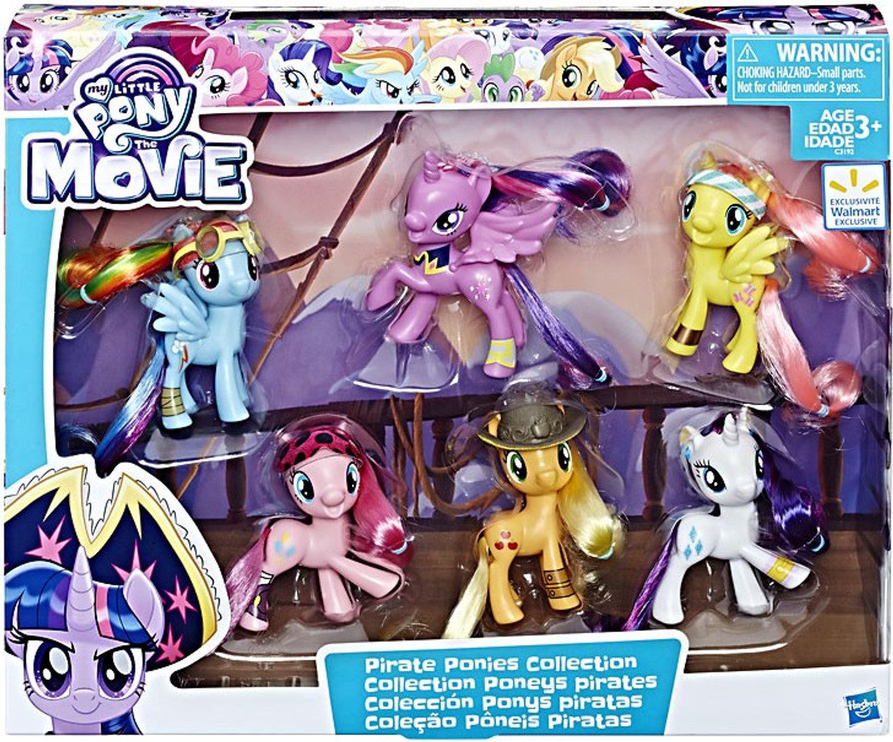 - My Little Pony Pirate Ponies Collection Exclusive Figure 6-Pack
