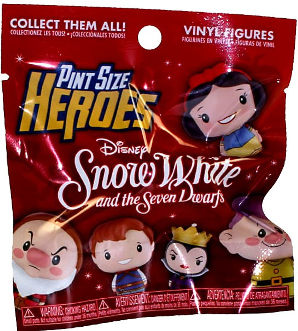 Funko Mystery VINILE Pint size Heroes SNOW WHITE Happy