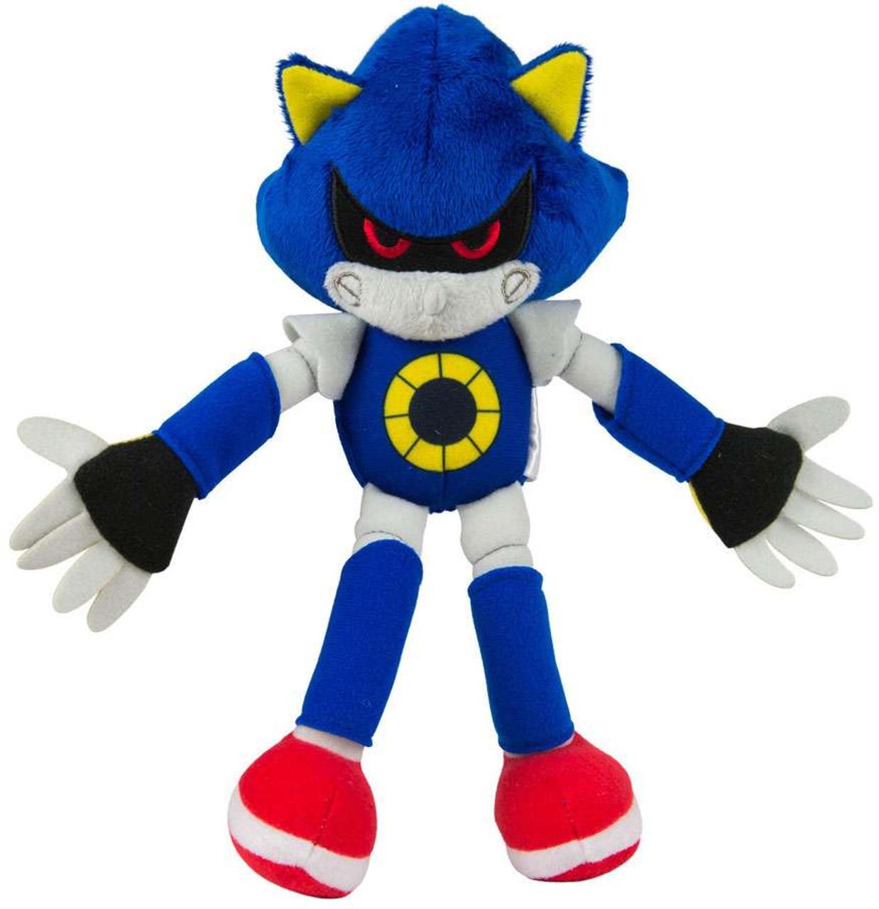 Sonic The Hedgehog Metal Sonic 8 Plush Tomy Inc Toywiz