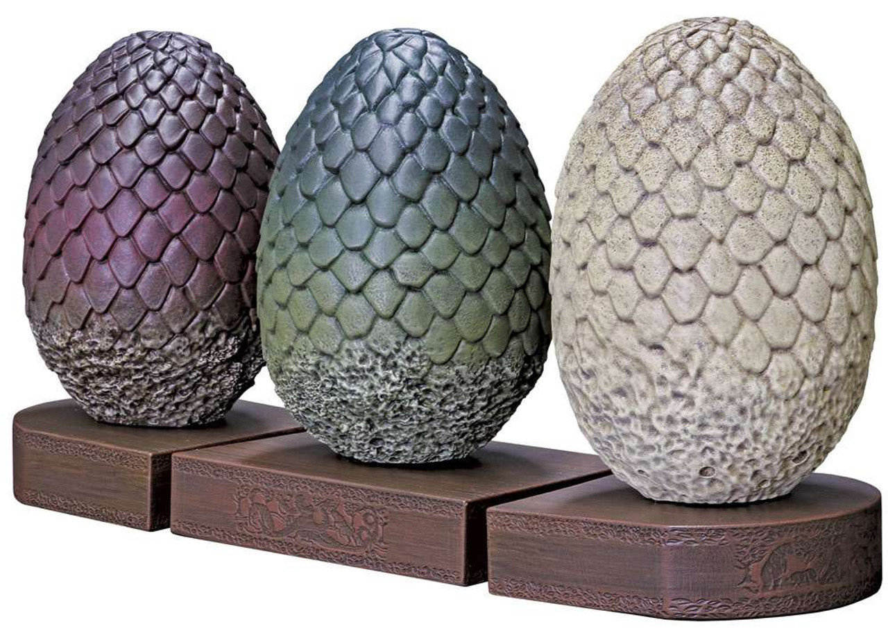 Game Of Thrones Dragon Egg 7 Bookends Dark Horse Toywiz