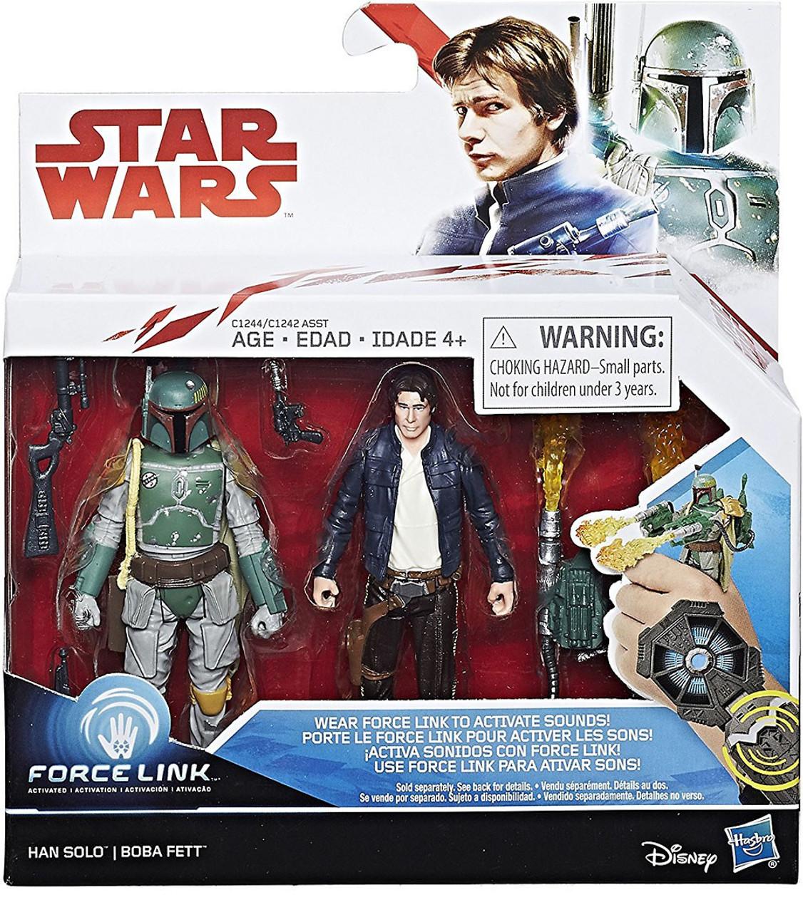 Star Wars Black Series Titanium /& Force Link Lot Brand New