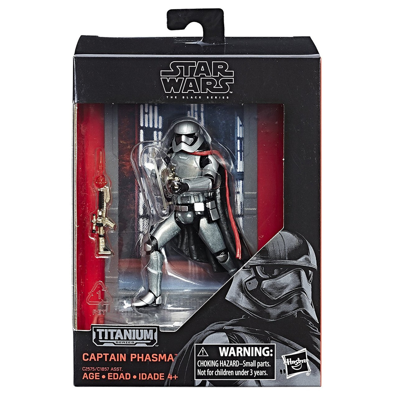 """Star Wars The Black Series CAPTAIN PHASMA HEAD FOR 6/""""  ACTION FIGURE"""