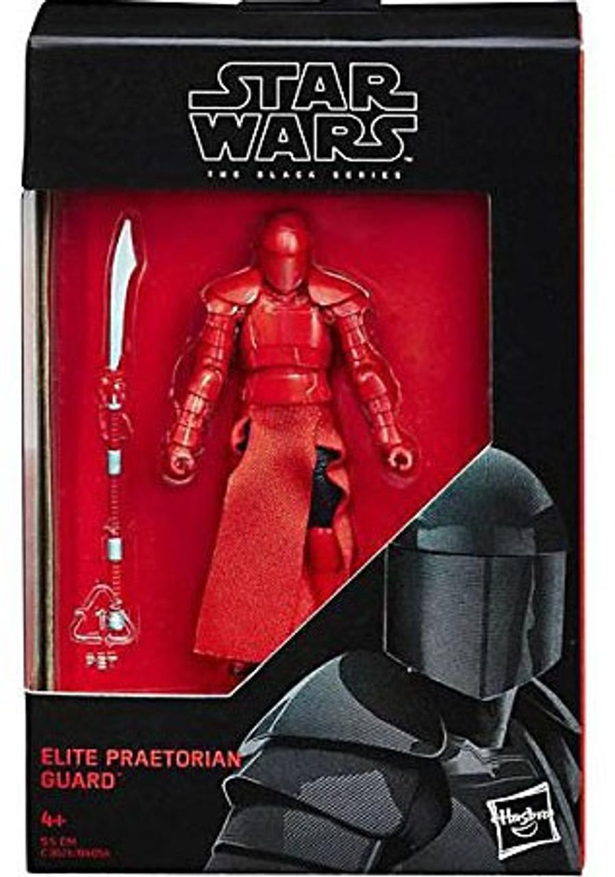 Red Royal Snoke guard 1 Star Wars minifigure last jedi  movie toy figure