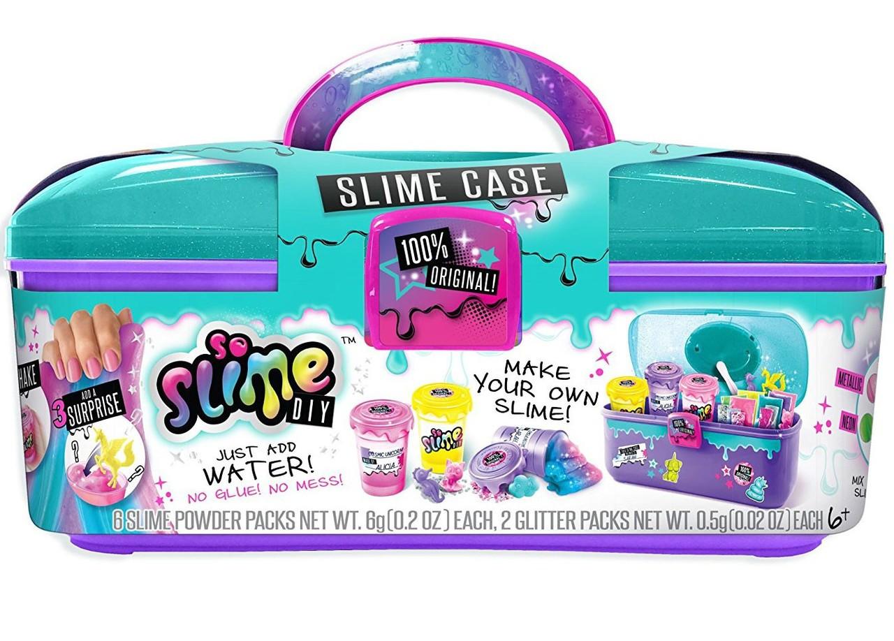 da73fbd5566c0 So Slime DIY Slime Case Storage Kit Playset Canal Toys - ToyWiz