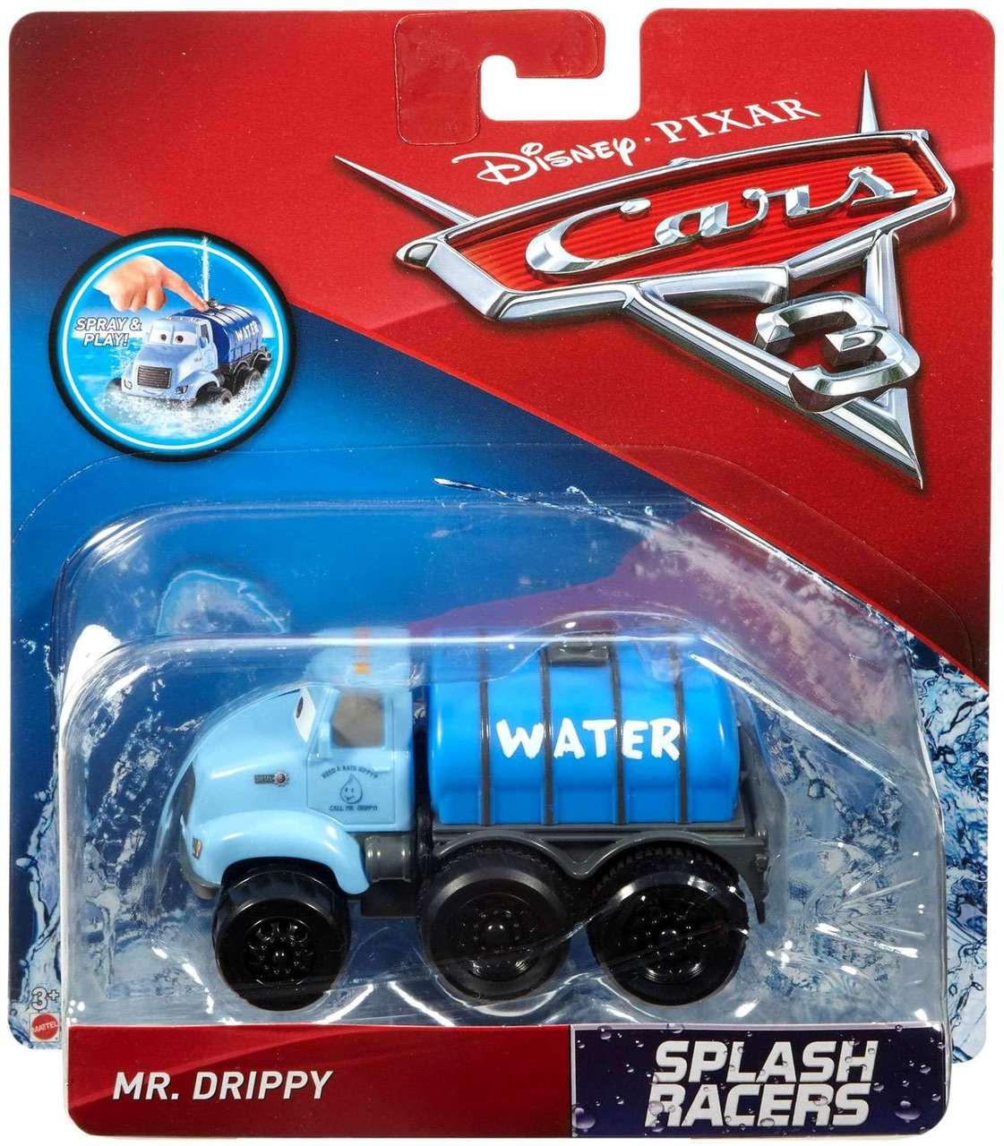 Disney Pixar Cars Cars 3 Splash Racers Oversized Mr Drippy Bath