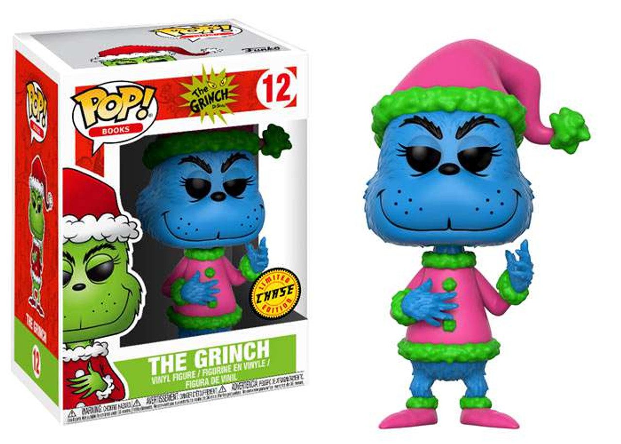 964651debd5 Funko Dr. Seuss POP! Books Santa Grinch Vinyl Figure  12  Blue