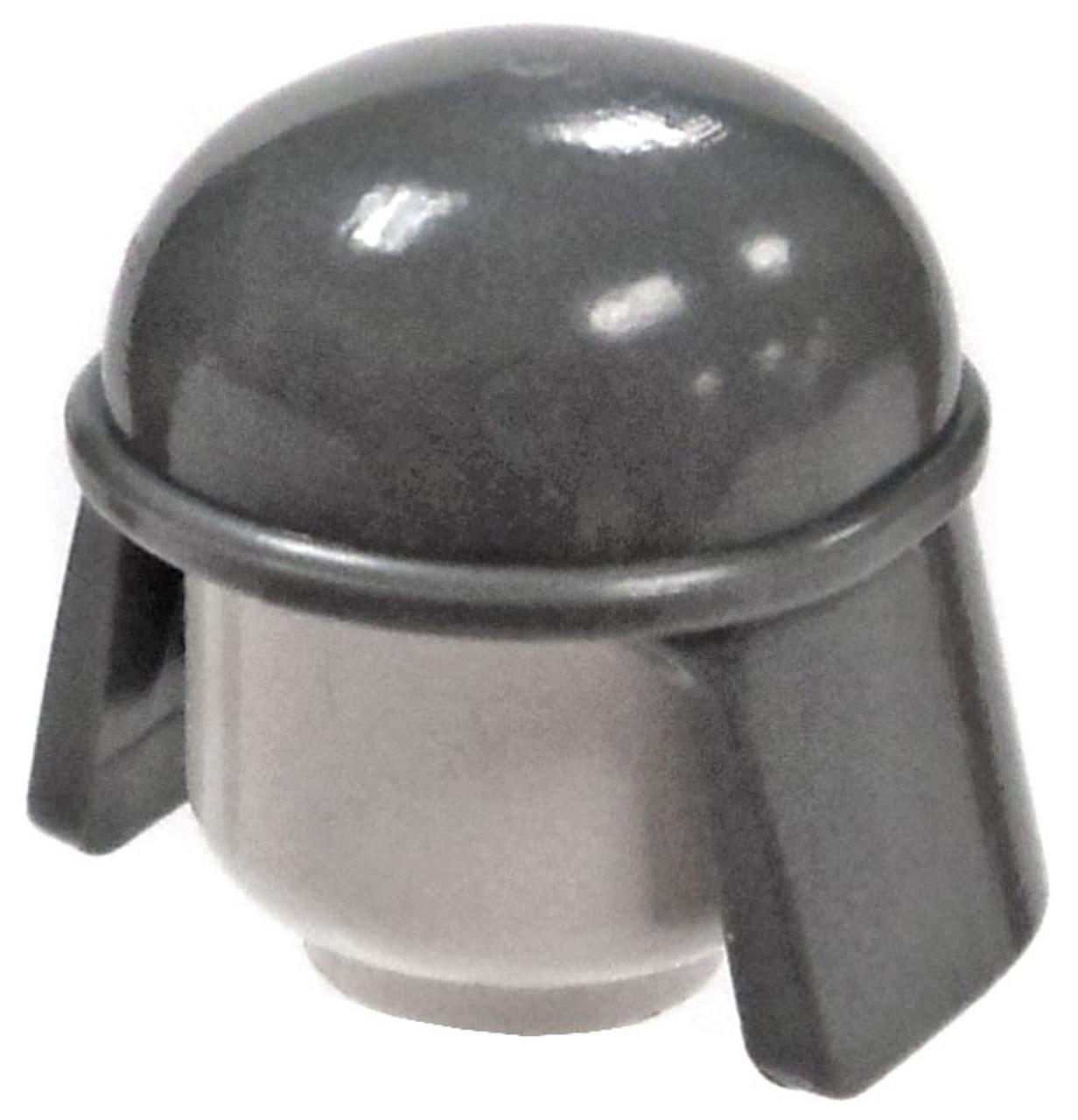 4a4bbb8c LEGO City Headgear Gray AT-ST Pilot Helmet Loose - ToyWiz