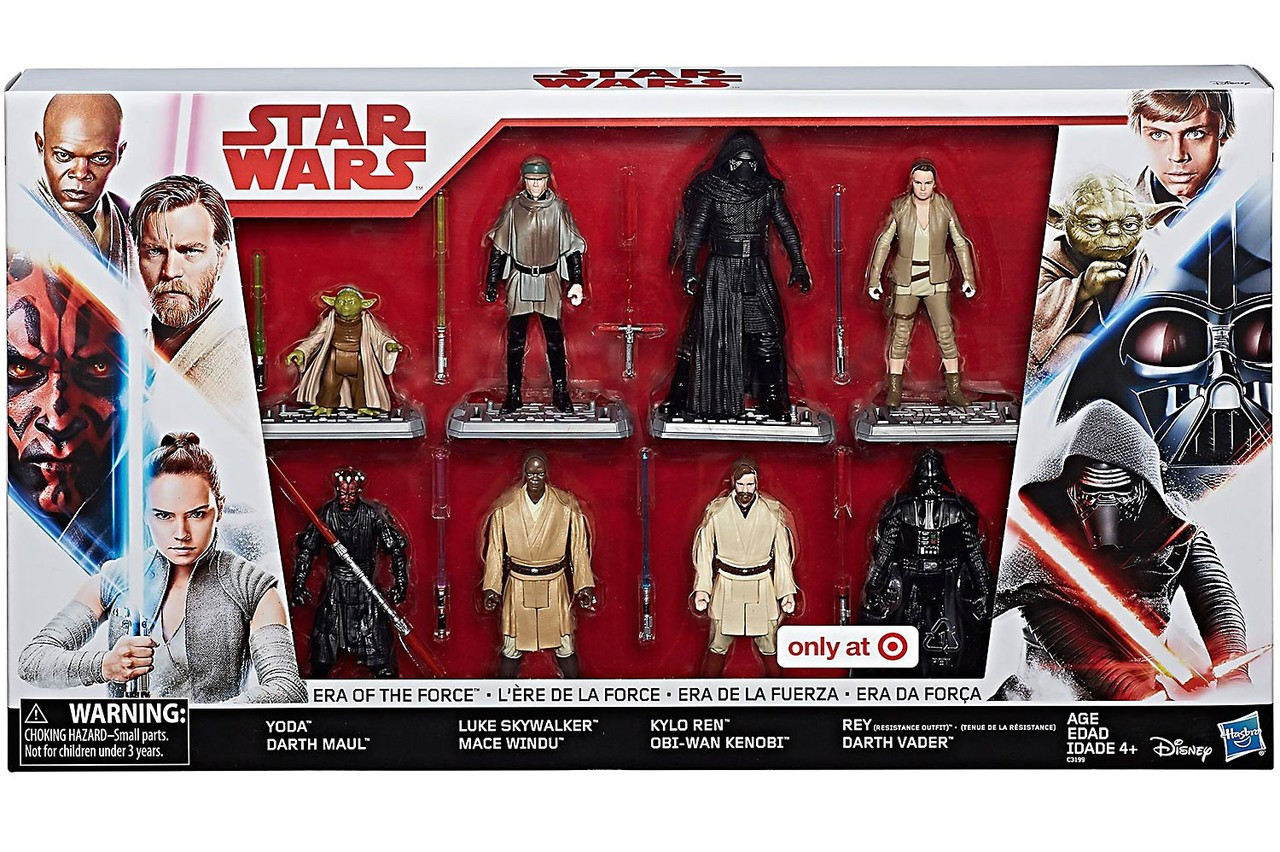Star Wars Era Of The Force Exclusive Action Figure 8 Pack