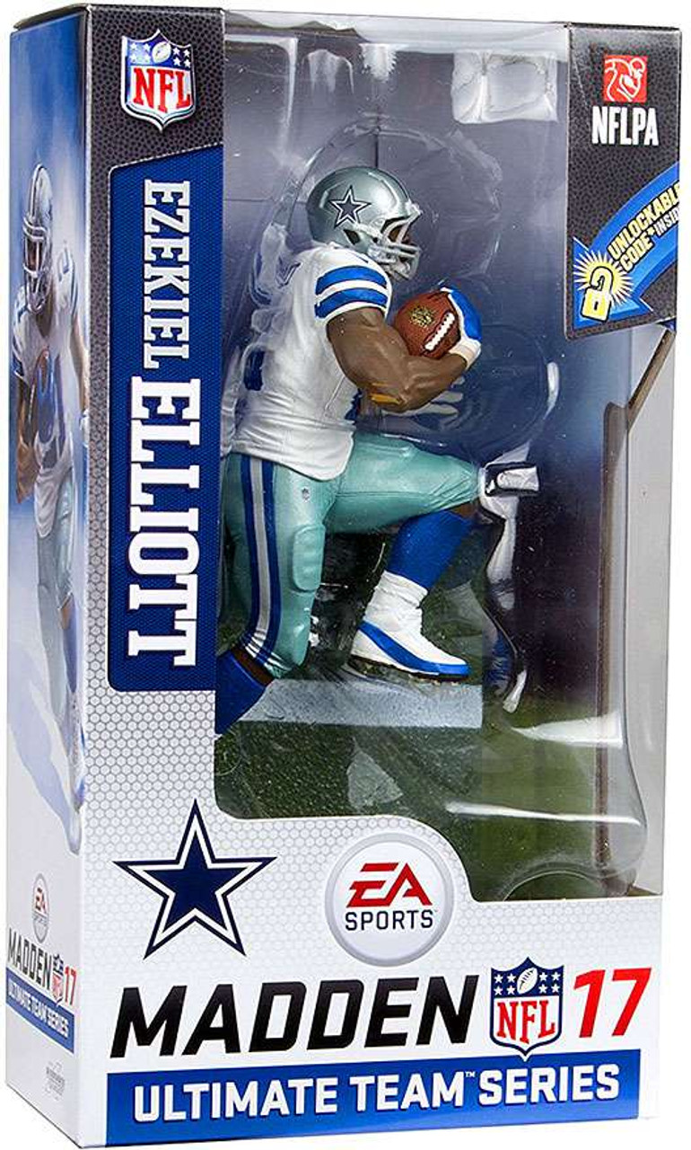 McFarlane Toys NFL Dallas Cowboys EA Sports Madden 17 Ultimate Team Series  2 Ezekiel Elliott Action b572de314