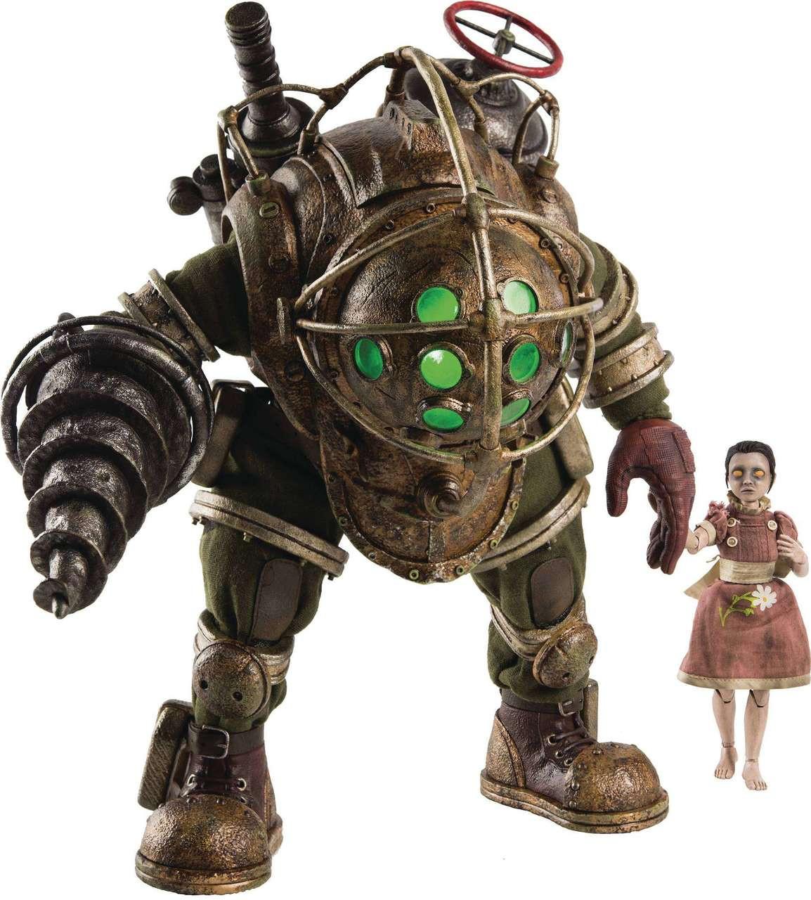 Bioshock Big Daddy Little Sister Action Figure