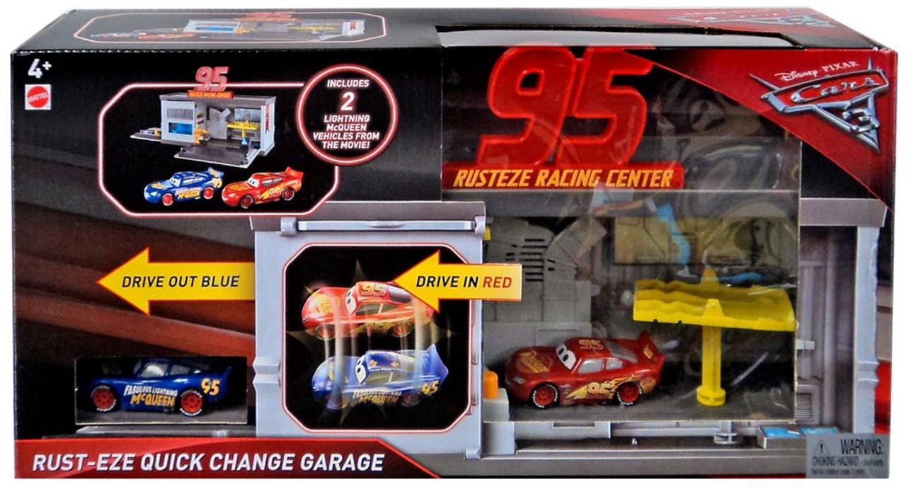 Disney Pixar Cars Cars 3 Rust Eze Quick Change Garage Exclusive