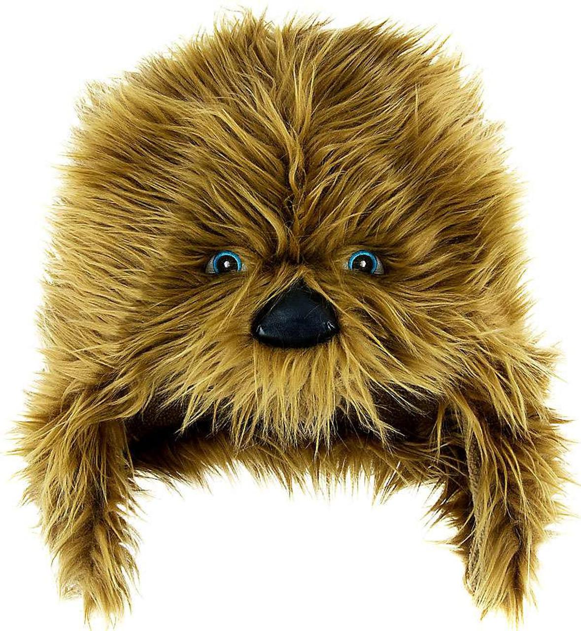 cc77ee85c74 Disney Star Wars Chewbacca Hat Exclusive Apparel - ToyWiz