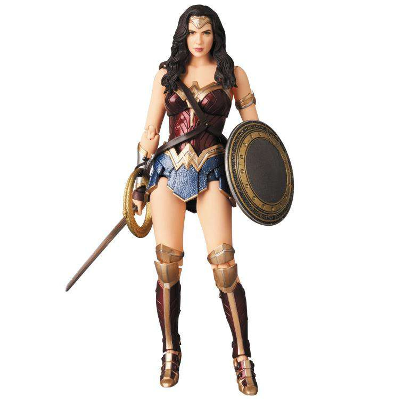7875f19e5b8 DC Justice League MAFEX Wonder Woman 6 Action Figure 060 Justice League  Medicom Toys - ToyWiz