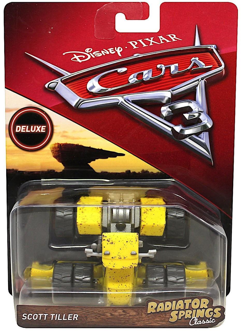 Disney Pixar Cars Cars 3 Deluxe Oversized Scott Tiller Diecast Car