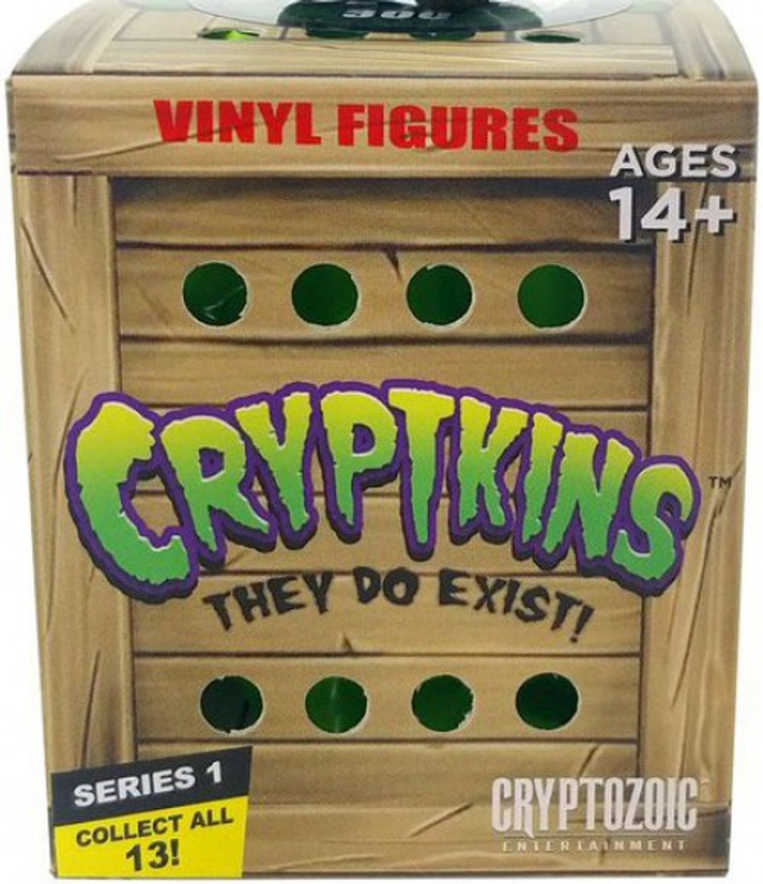 Cryptkins Series 1 They Do Exist Vinyl Figures Chupacabra