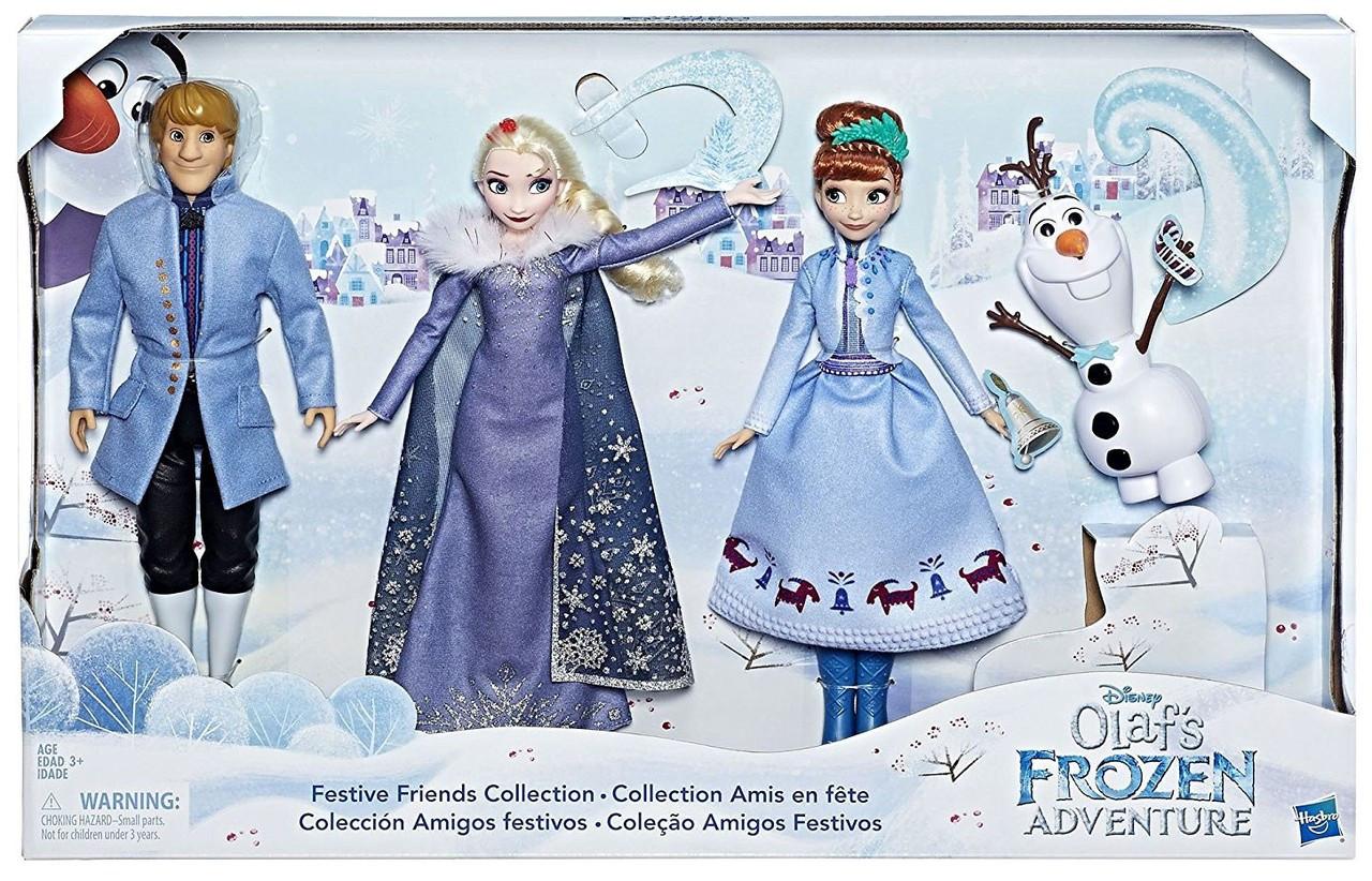 Disney Frozen Festive Friends Collection 11 Doll 3-Pack
