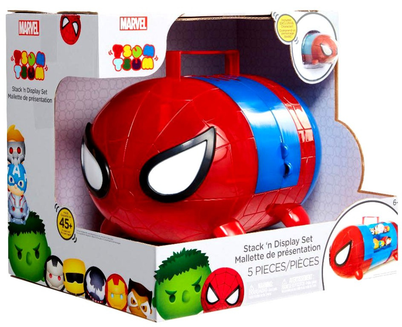 Iron Man Marvel Nose Chara Tsum Tsum Vinyl Mini-Figure