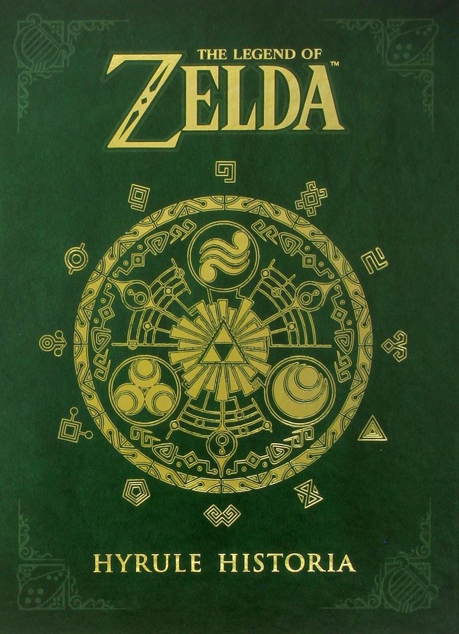 The Legend Of Zelda Hyrule Historia Hardcover Book Dark Horse Toywiz