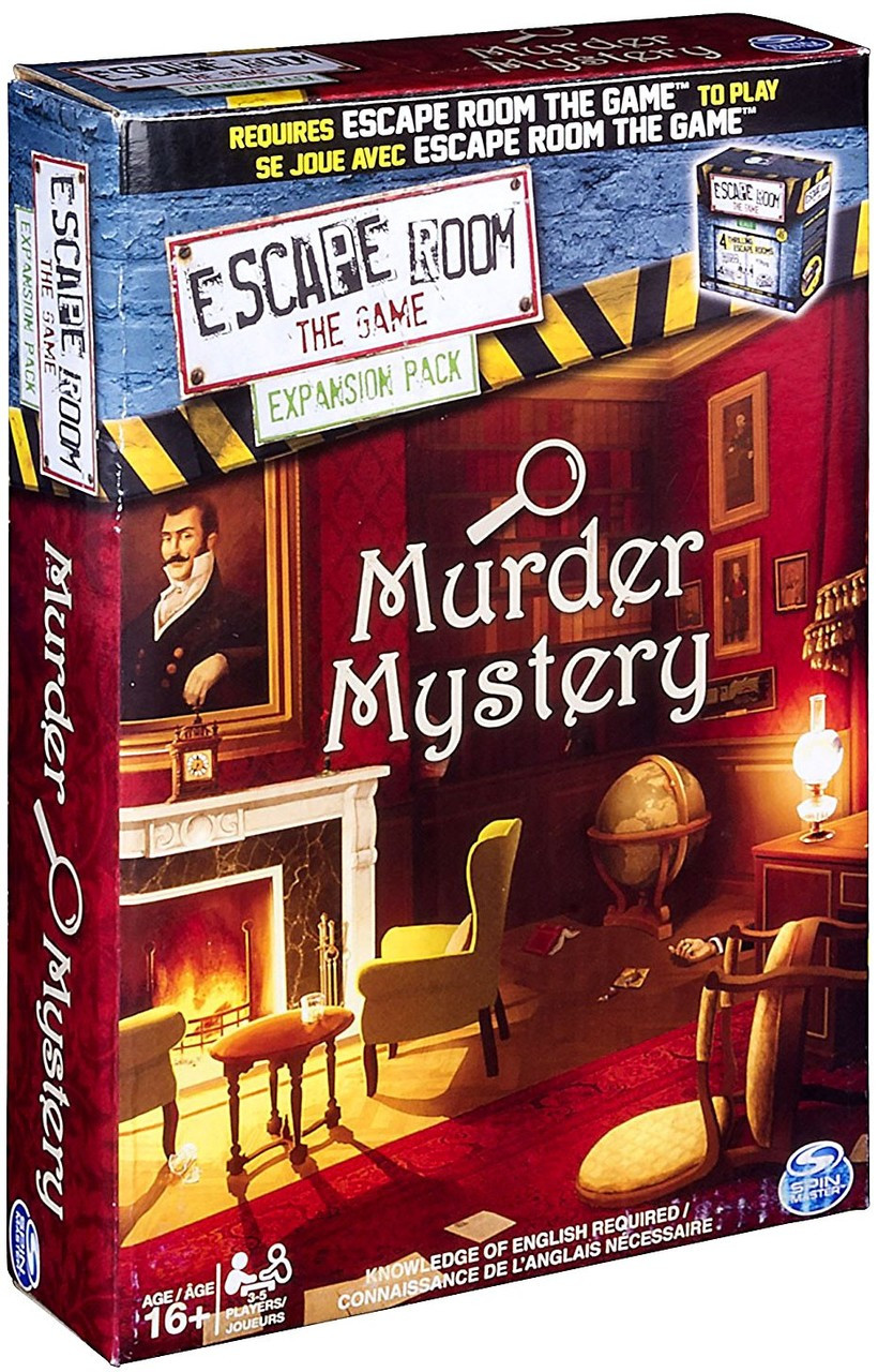 Escape Room Murder Mystery Game Accessory