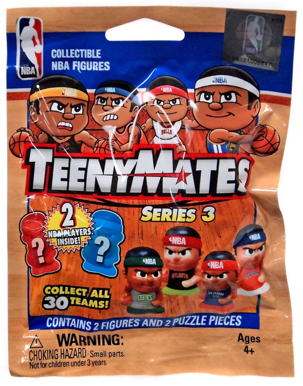 NBA TeenyMates Series 2 Dribblers Mystery Pack