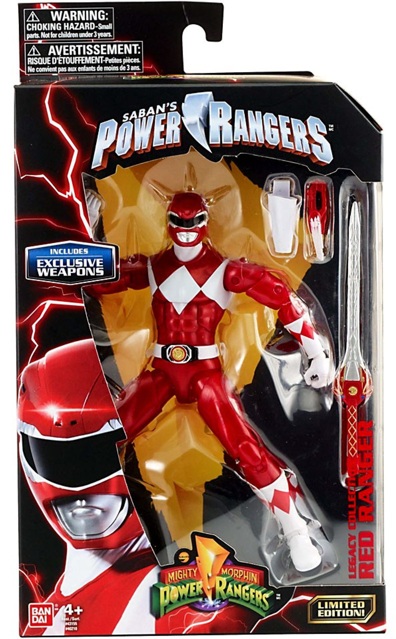 Mighty Morphin Power Rangers Legacy RED RANGER Action Figure