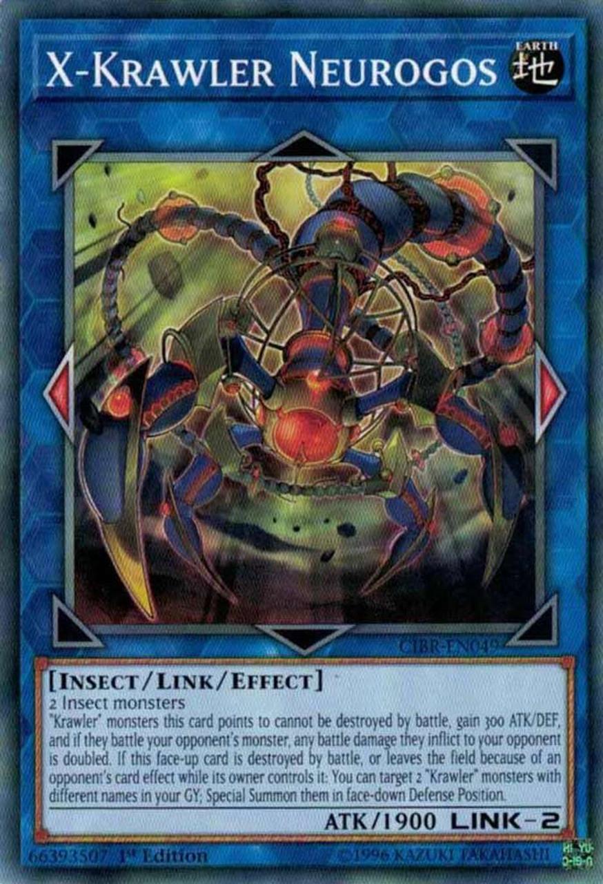 YU-GI-OH CARD KRAWLER DENDRITE CIBR-EN021