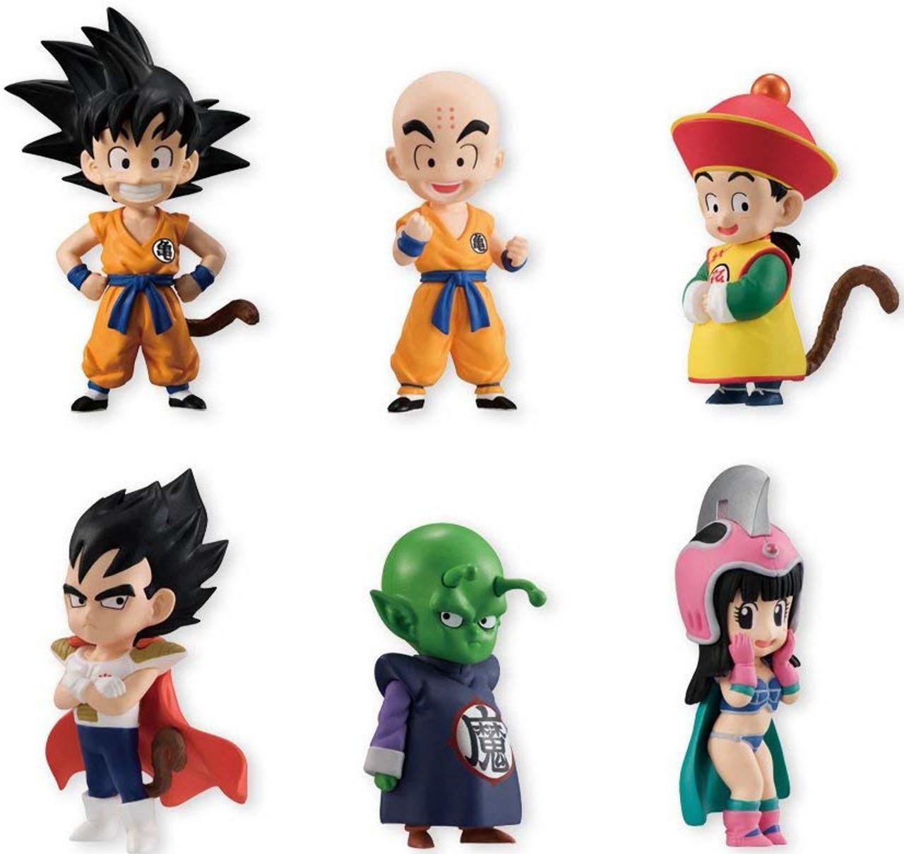 DRAGON BALL Minifigure Lego custom Goku Gohan Vegeta cell junior Majin bu