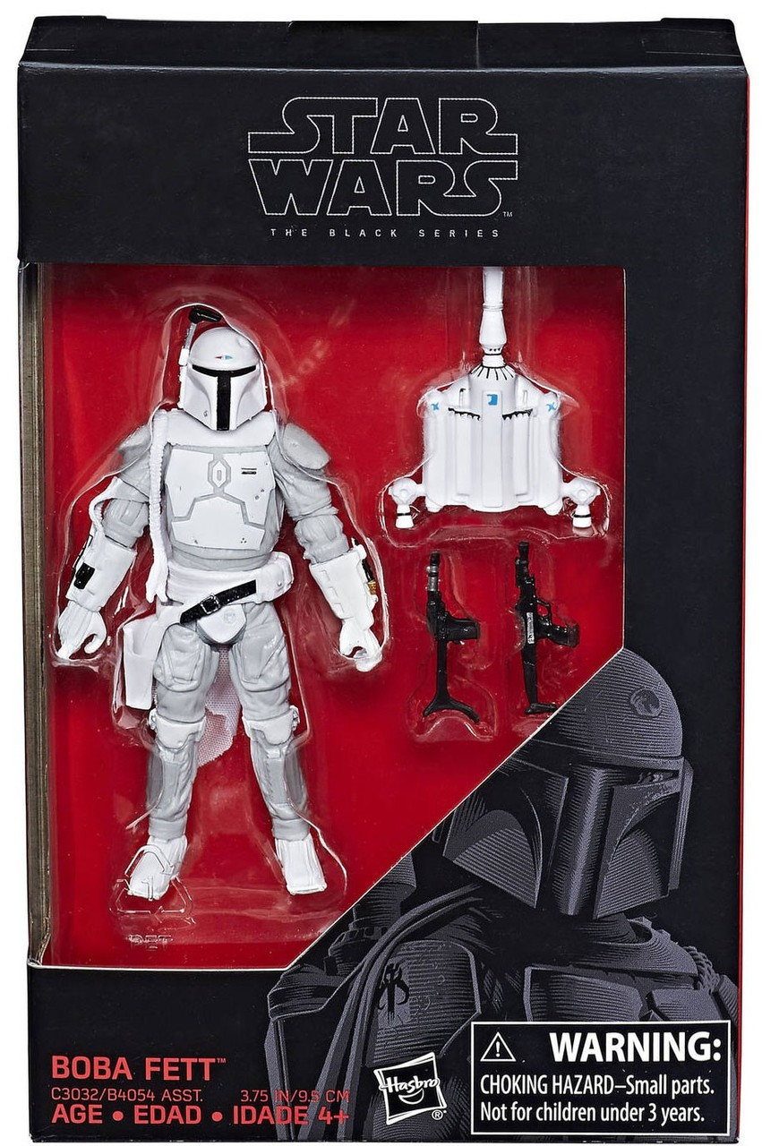 "Hasbro Star Wars Silver Boba Fett 3.75/"" Action Figure LOOSE Excellent Condition"