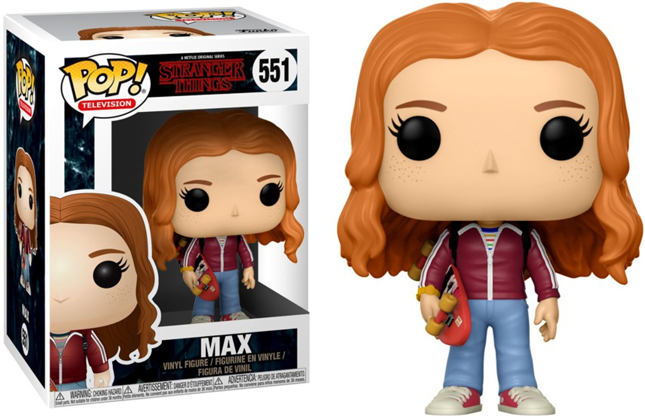 149661f8ade Funko Stranger Things Funko POP TV Max with Skateboard Vinyl Figure 551 -  ToyWiz