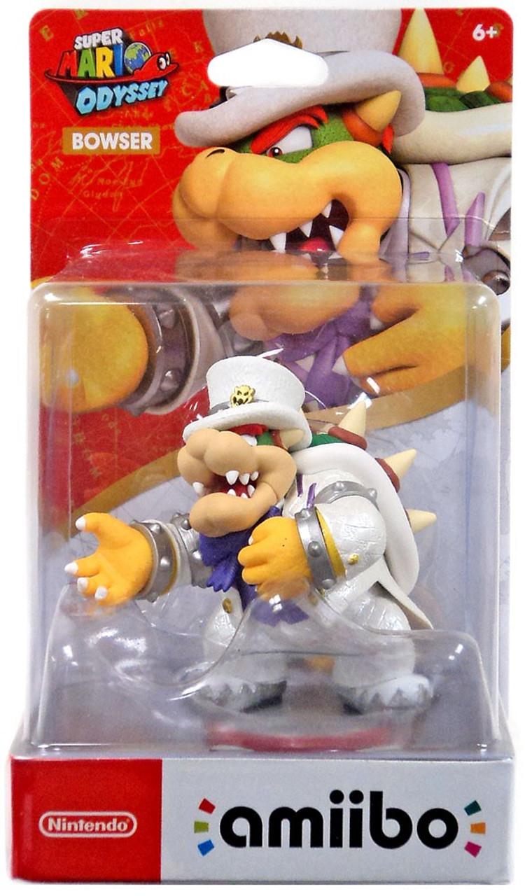 Nintendo Super Mario Odyssey Amiibo Bowser Mini Figure Wedding Outfit