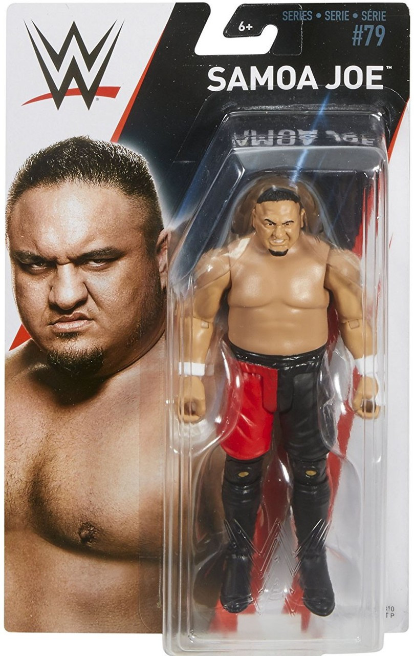 Samoa Joe T-Shirt Mattel Accessories for WWE Wrestling Figures
