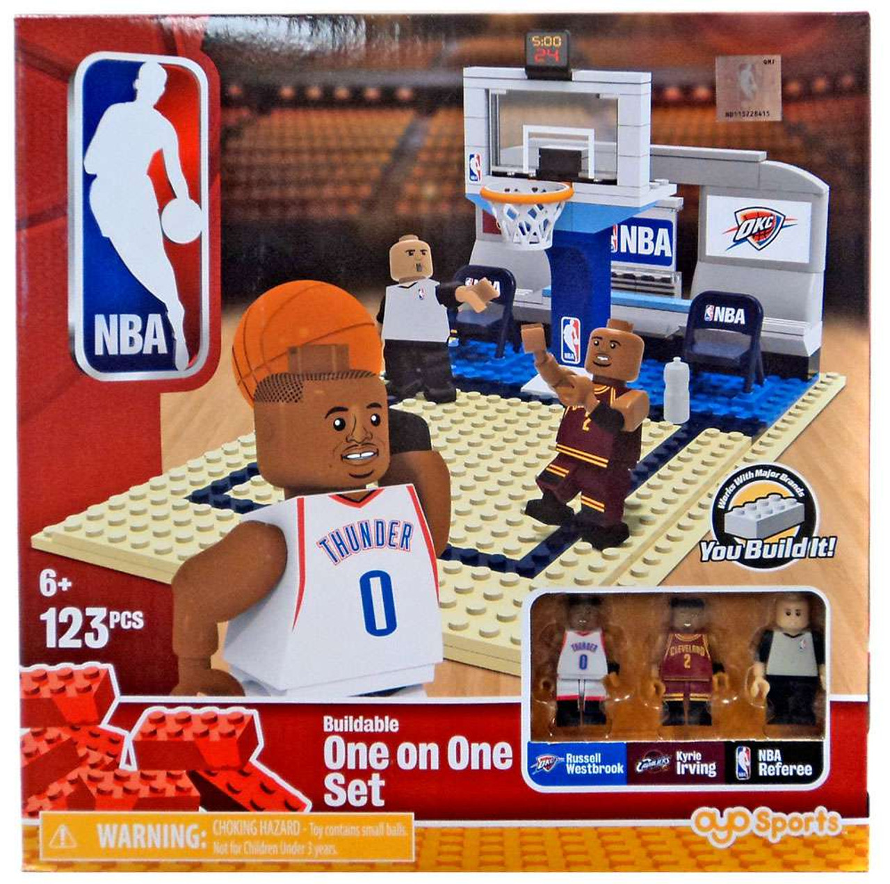 5200de46de9b NBA One on One Russell Westbrook Kyrie Irving Set OYO - ToyWiz