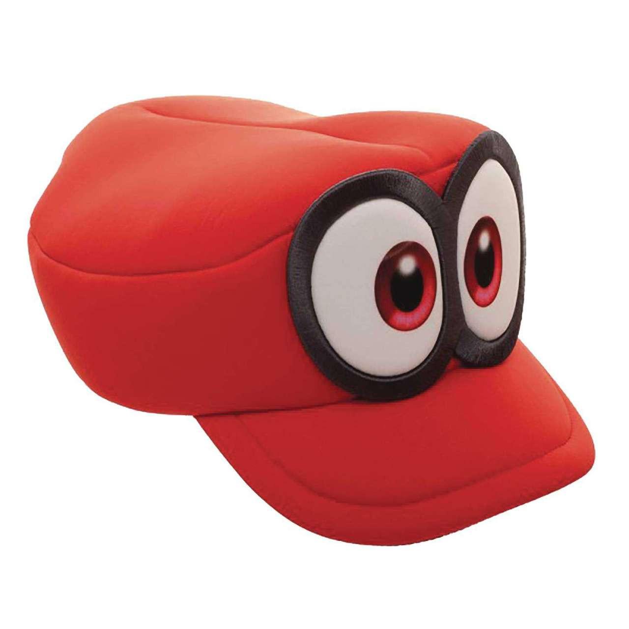 2cf5b6b3e3d45c Super Mario Odyssey Cappy Cosplay Hat Apparel Bioworld - ToyWiz