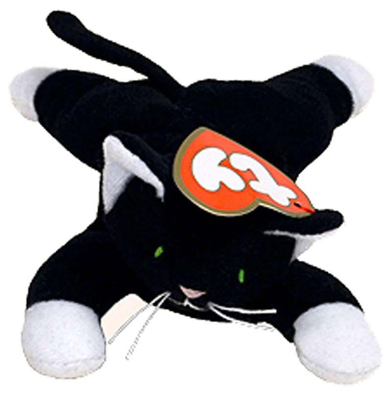 Beanie Babies McDonalds 1998 Zip the Cat Teenie Beanie Plush Ty - ToyWiz b1e9d1c9ee4