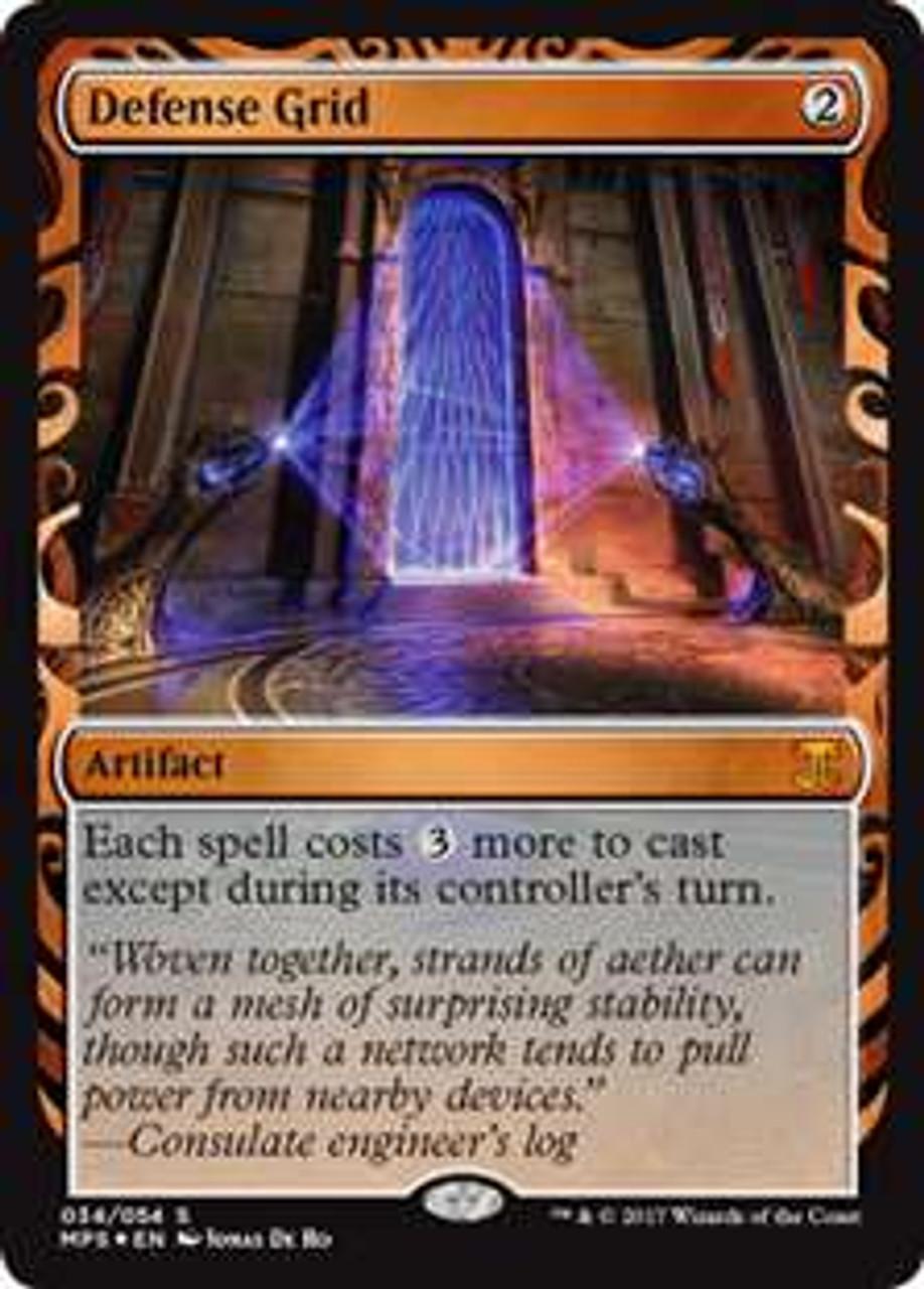 Hollows Mesh Bushes Roblox Magic The Gathering Masterpiece Single Card Defense Grid 34 Kaladesh Invention Toywiz