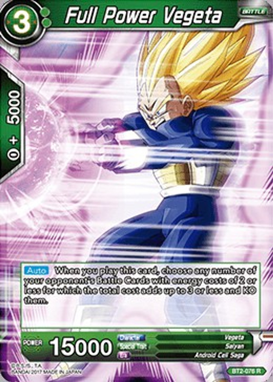 Card Game BT2-085 R Dragon Ball Super FR Série 2 Union Force