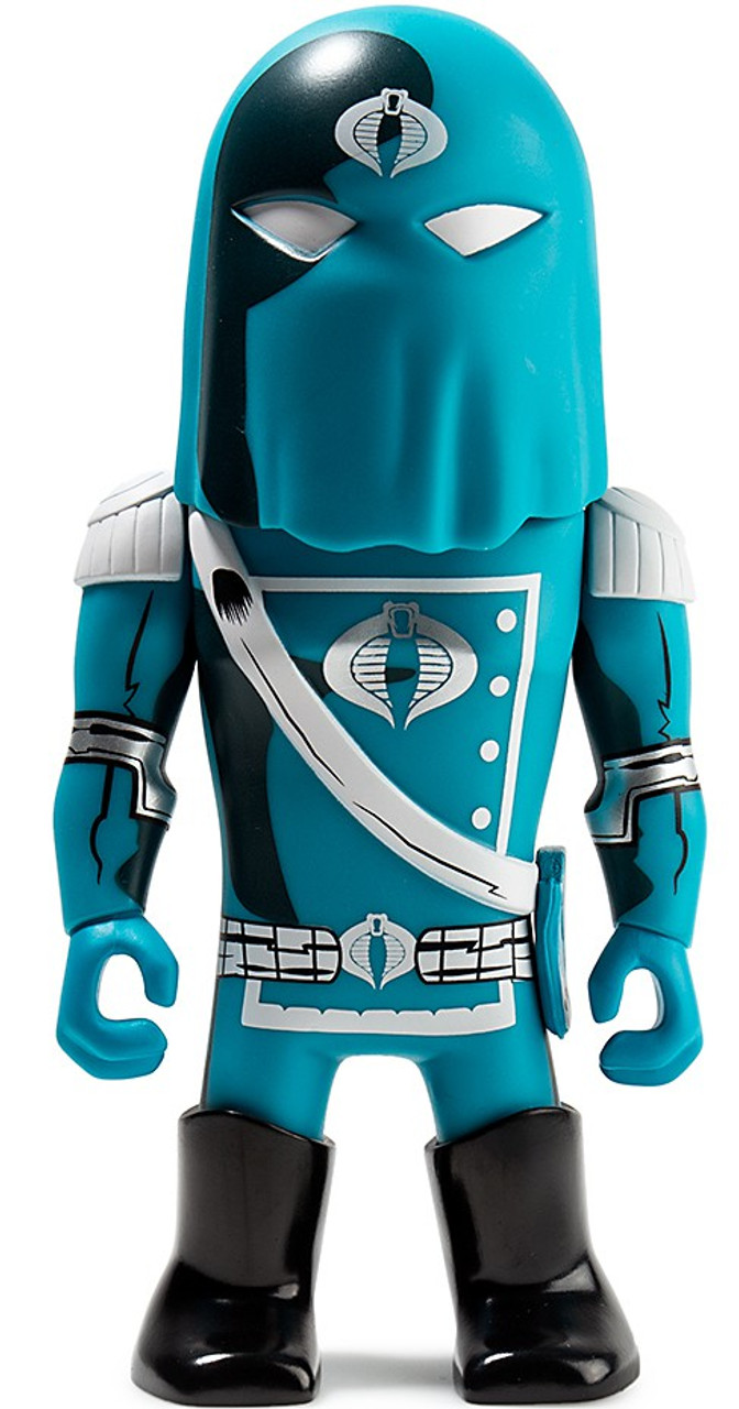 "COBRA COMMANDER Transformers Vs GI Joe 3/"" Mini Series KidRobot Vinyl Figure"