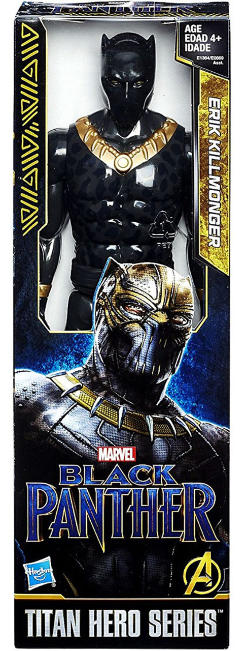 New Black Panther Titan Hero série Eric Killmonger Toy