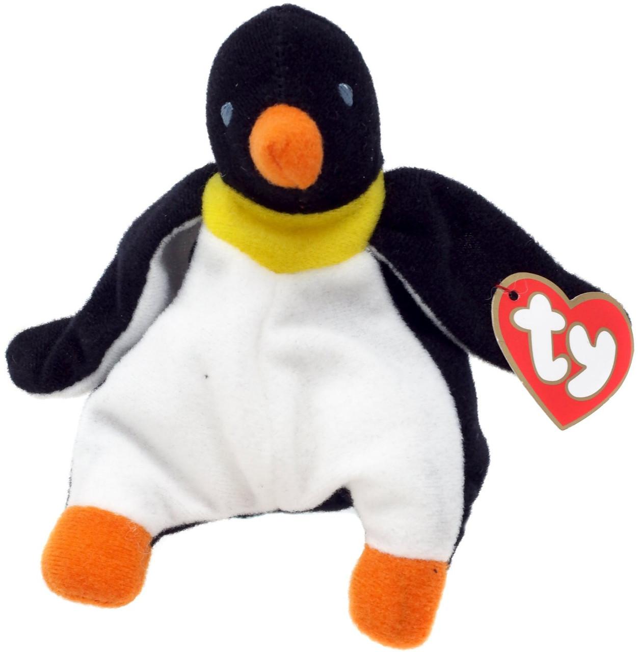 cfcfb0657d7 Beanie Babies McDonalds Waddle the Penguin Beanie Baby Plush 11 Ty - ToyWiz