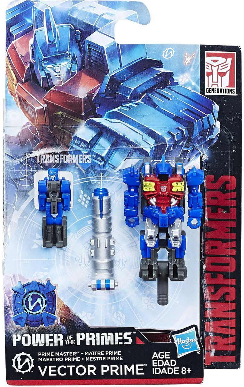 Cloudburst Master Action Figure Generations Power of the Primes Micronus