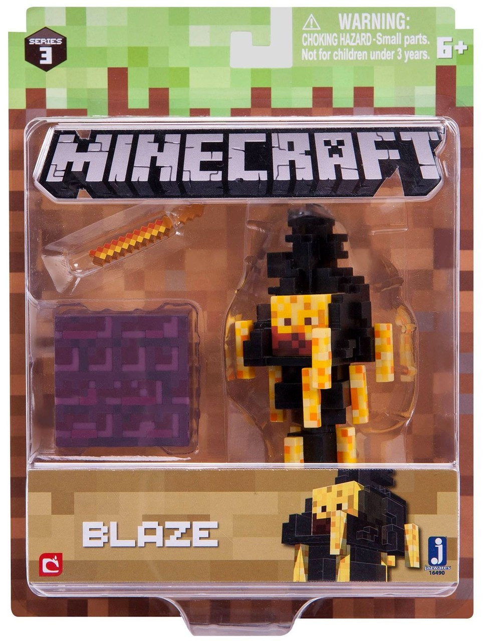 Minecraft Series 3 Blaze Action Figure Set Jazwares - ToyWiz