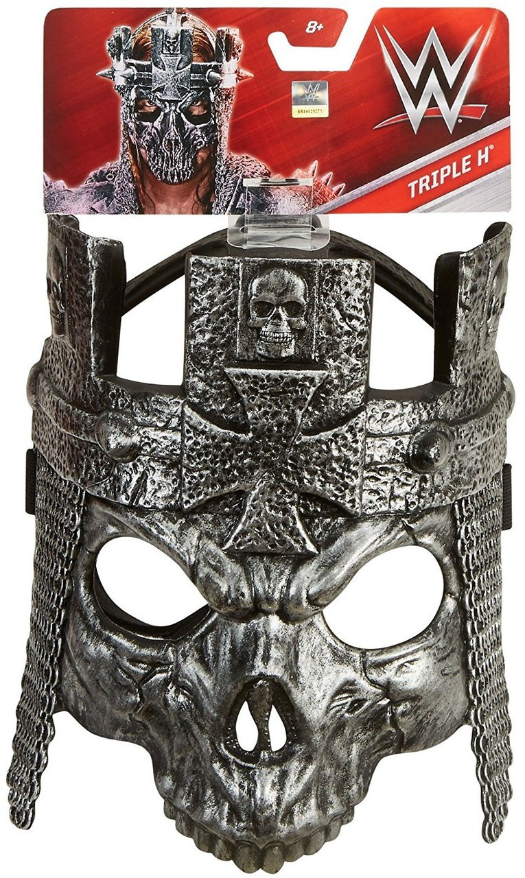 Wwe Wrestling Costumes Triple H Replica Mask Mattel Toys Toywiz