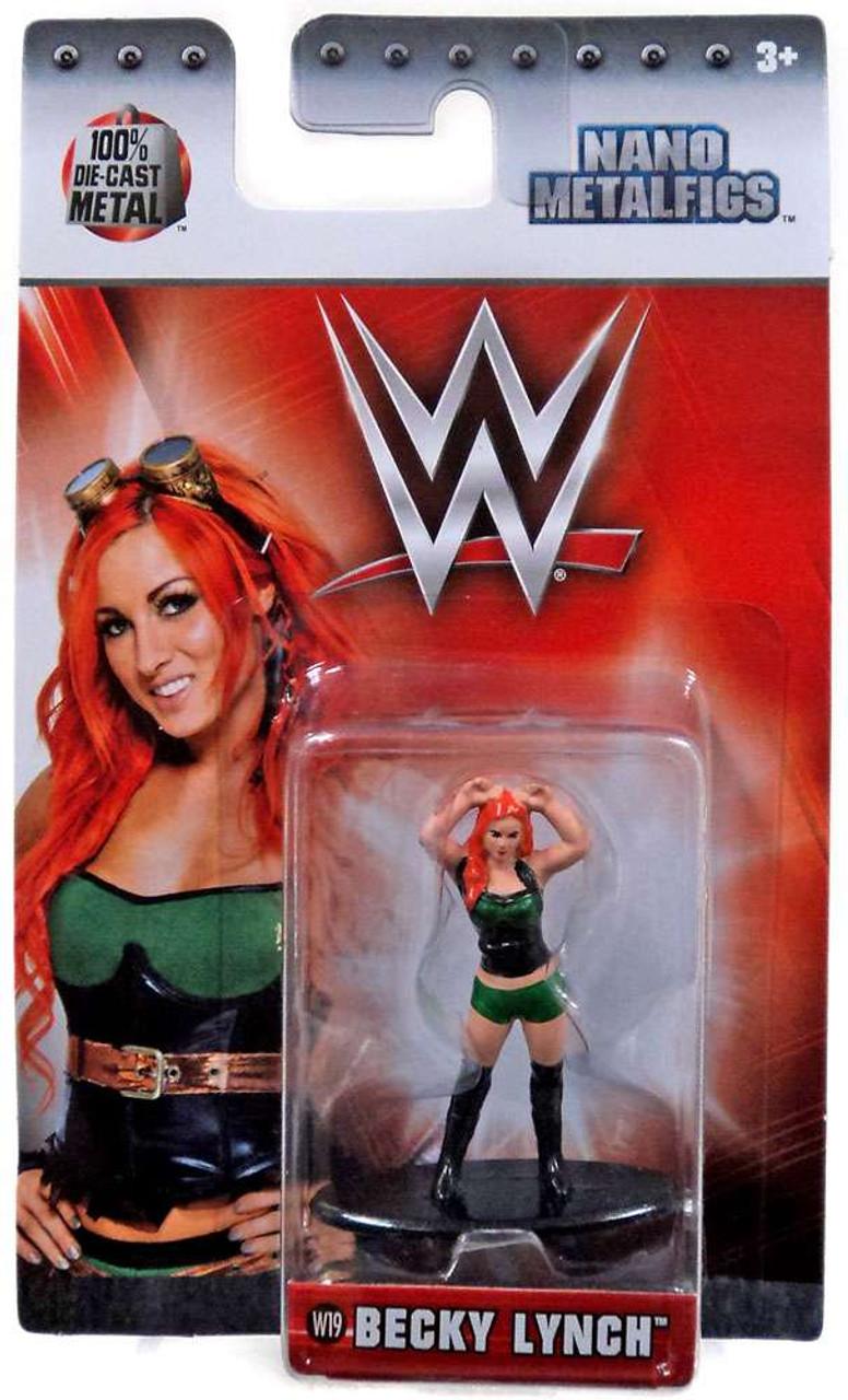 WWE The Rock 1.5 Inch Diecast Nano Metal Figure by Jada Jada Toys W3