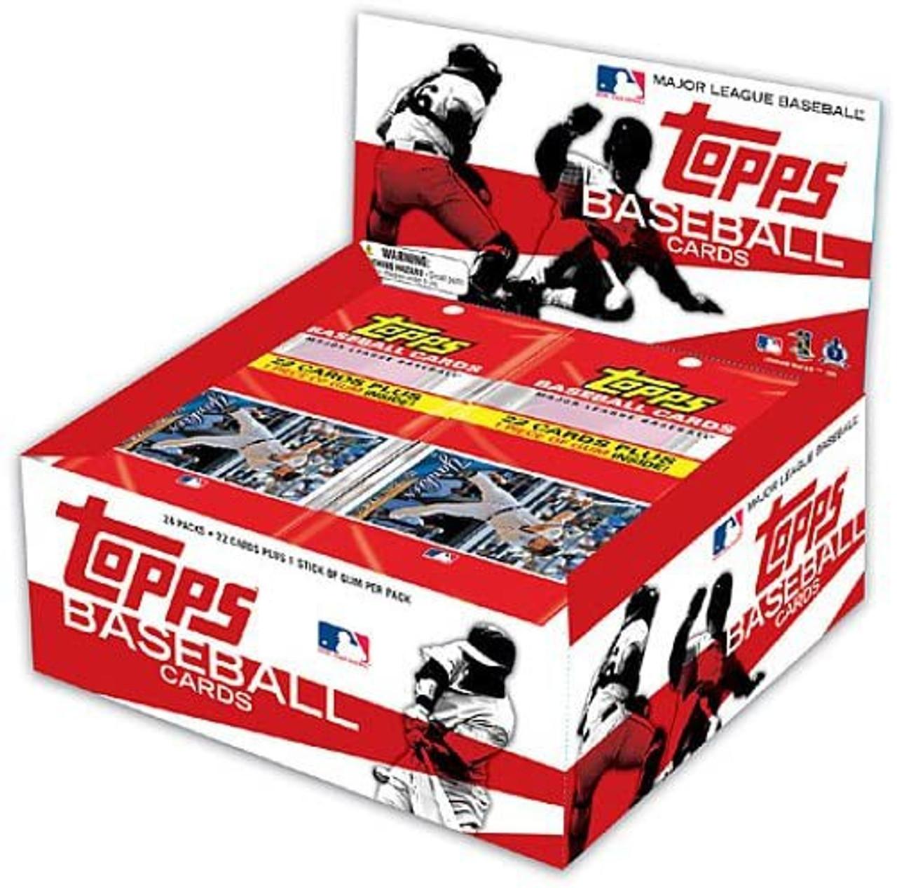 Mlb 2010 Topps Baseball Cards Hanger Pack Box