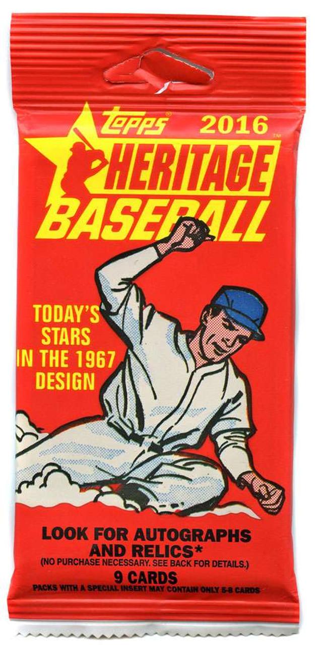 Mlb 2016 Topps Heritage Baseball Cards 2016 Topps Heritage High