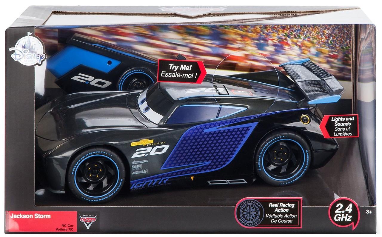 Disney Pixar Cars Cars 3 Jackson Storm Exclusive 10 Inch R C Vehicle 2 4 Ghz